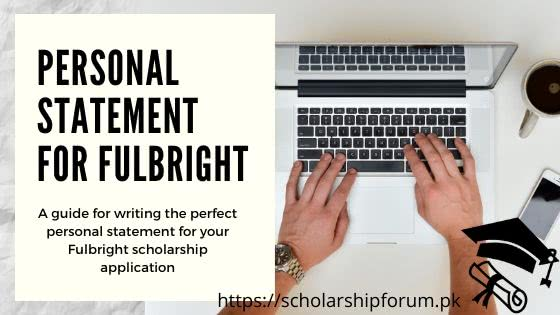 Personal Statement for Fulbright