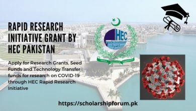 Photo of Rapid Research Initiative Grant by HEC Pakistan