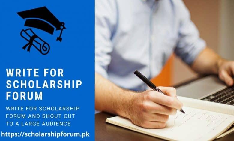 Write for Scholarship Forum