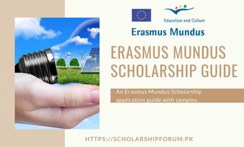 Erasmus Mundus Scholarship Application Guide