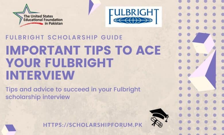 Fulbright Interview Tips and Advice