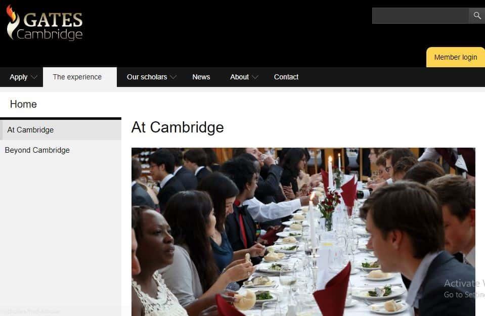 Gates Cambridge Scholarship - Best Scholarships to study at Cambridge