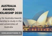Photo of Australia Awards Scholarship 2020